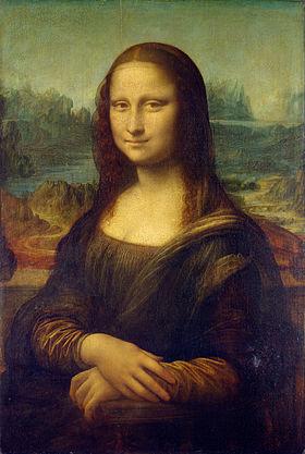 """La Joconde"" Leonard De Vinci (source: wikipedia)"