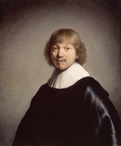 """Portrait de Jacob de Gheyn III"" Rembrandt (source: Dulwich Picture Gallery)"