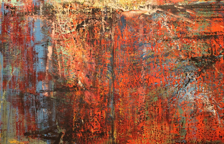 "Gerhard Richter ""Abstract Painting"" 1987 (Crédit: Yanik)"