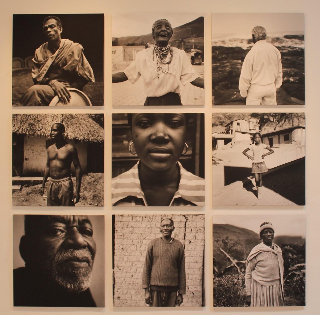 Neuf portraits afro andins signés par Philippe Guionie (Crédit: Yanik)