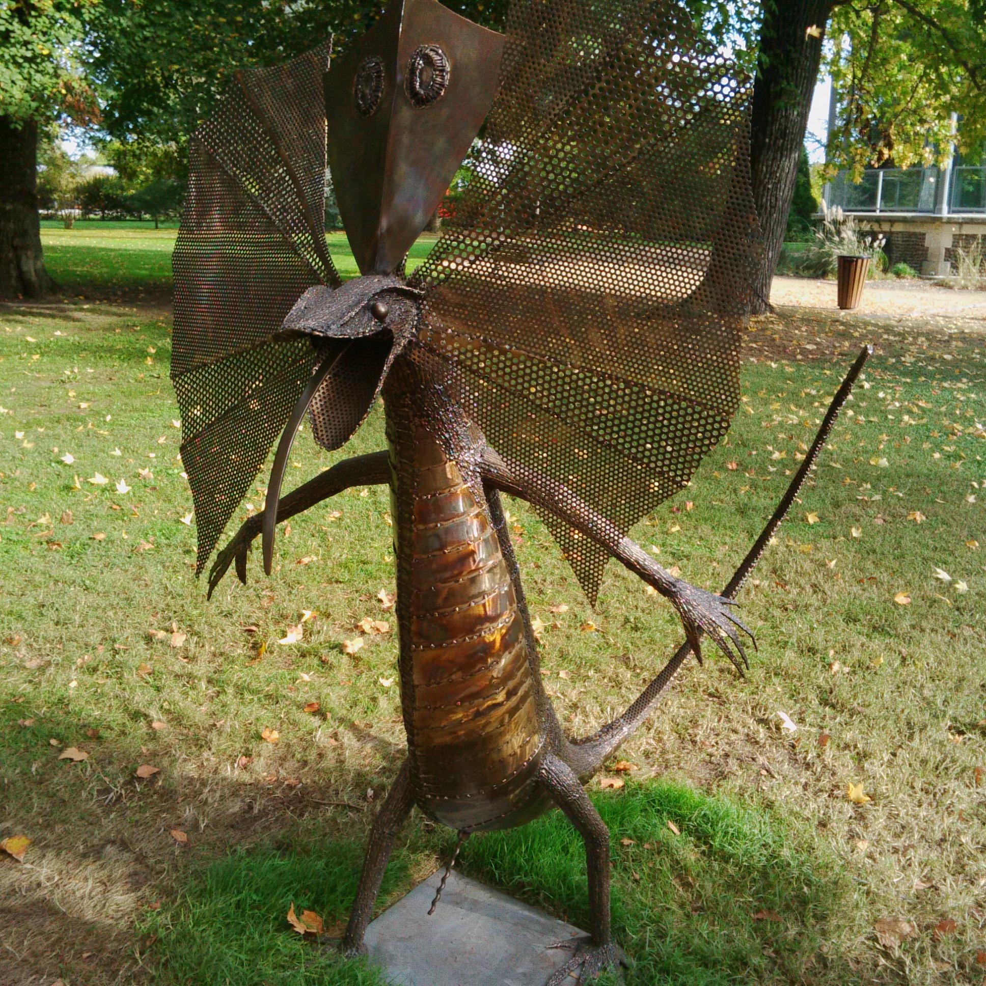 "Jose Guirado ""Dragon de Salant"" (crédit: Yanik)"