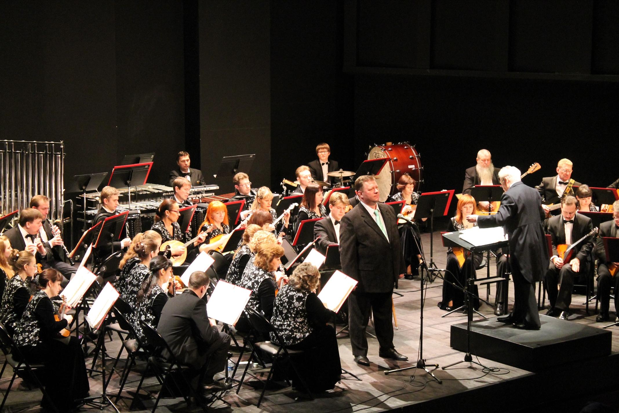 L'orchestre philharmonique de Novossibirsk (Yanik)