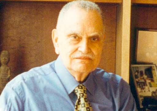 André Guillabert, ancien maire de Saint Louis au Sénégal (site de la ville de St Louis)