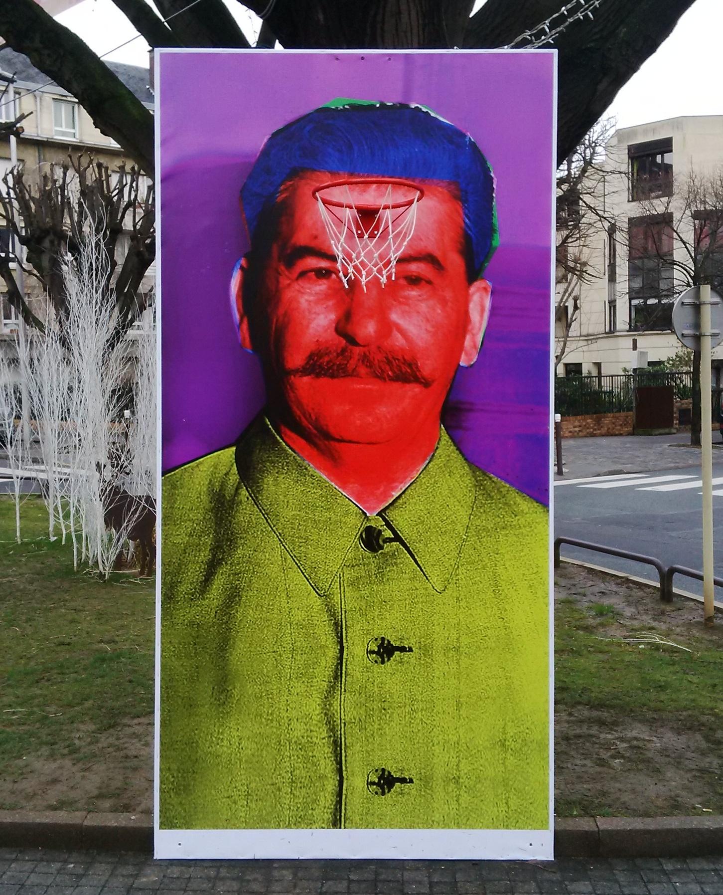 Staline revisité par les Blue Noses (Yanik)