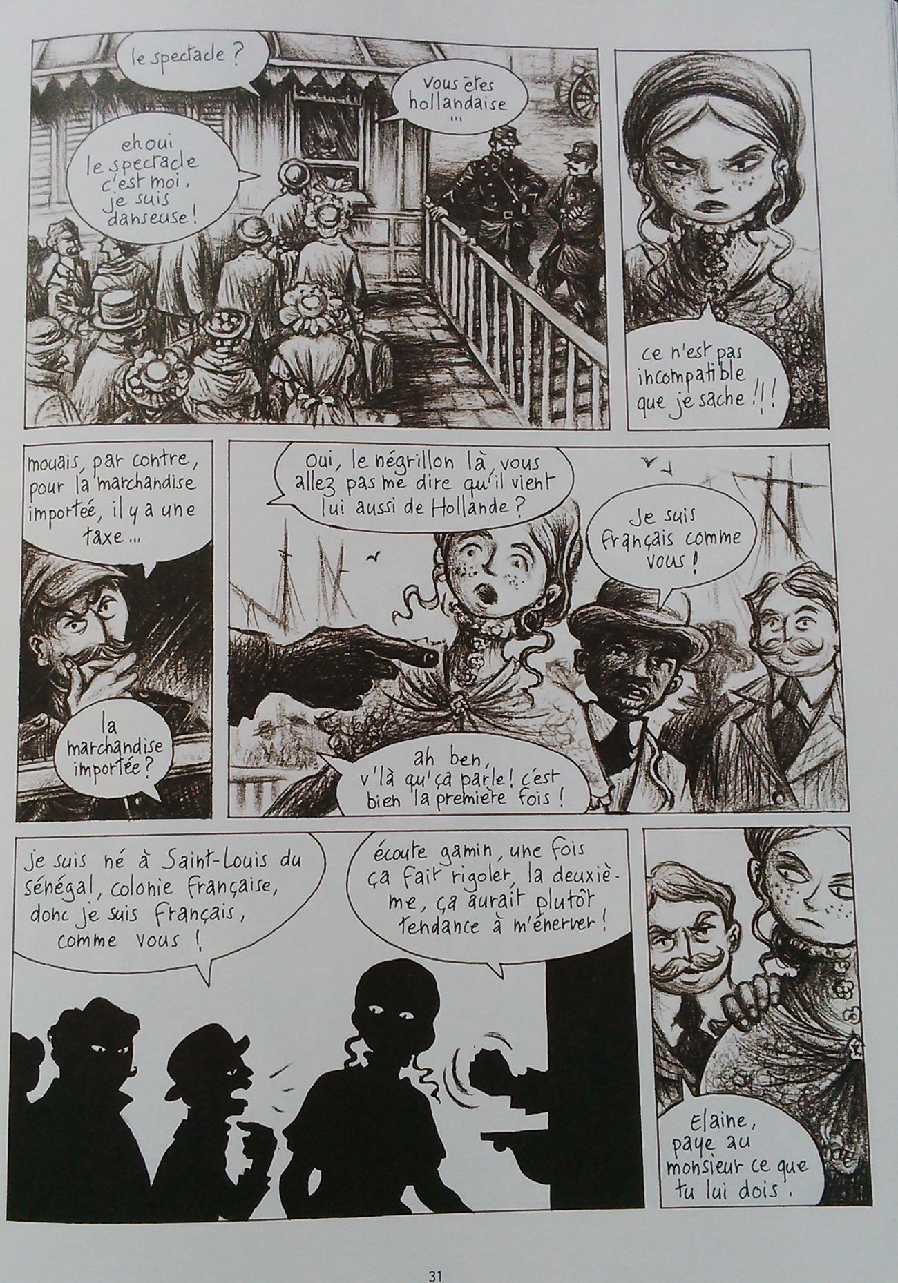 Les premiers pas en France, p31