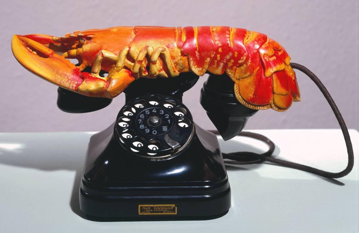 "Salvador Dali ""Téléphone homard"" (©Gala-Salvador Dali Foundation)"