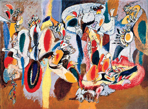 "Arshile Gorky ""The liver"" (wikipedia)"