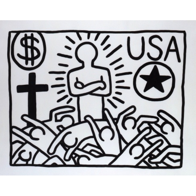 """Untitled"" Keith Haring (Keith Haring Foundation)"