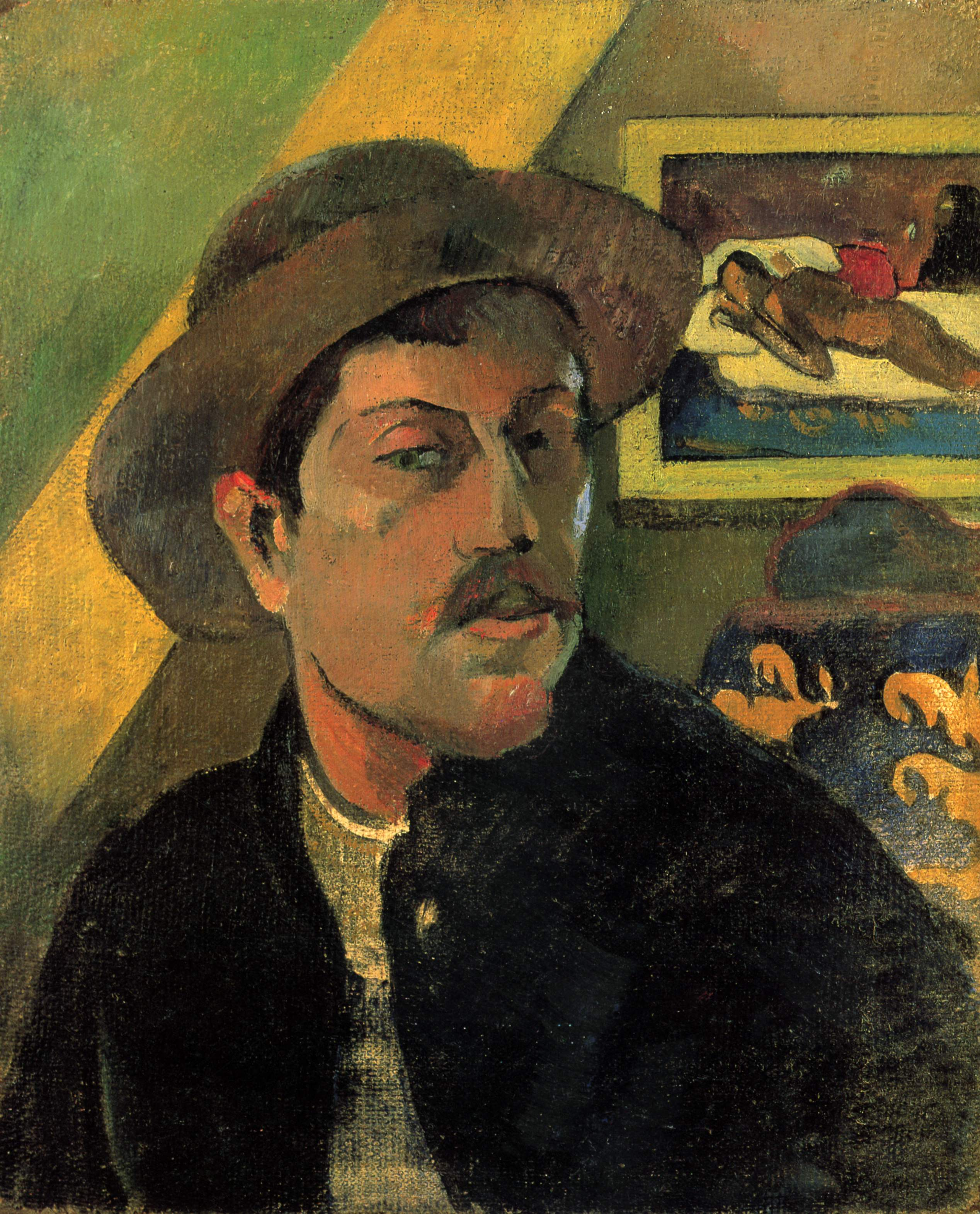 "Paul Gauguin ""Autoportrait"" (wikipedia)"