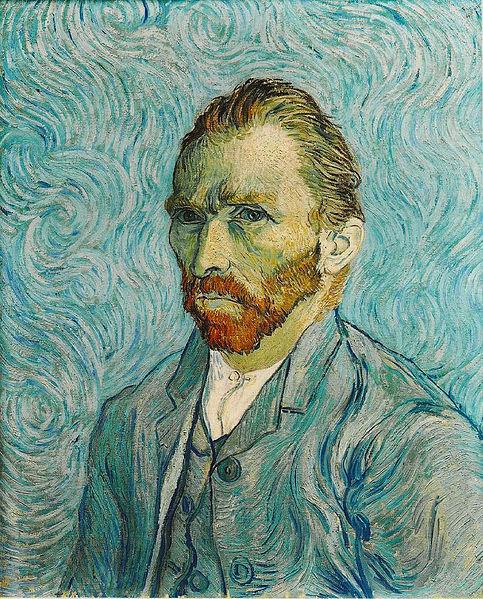 """Vincent Van Gogh """"Autoportrait"""" 1883"""