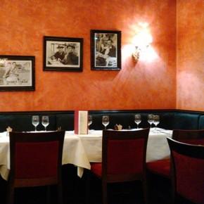 L'âme de Fellini plane dans ce recoin du restaurant (Yanik)
