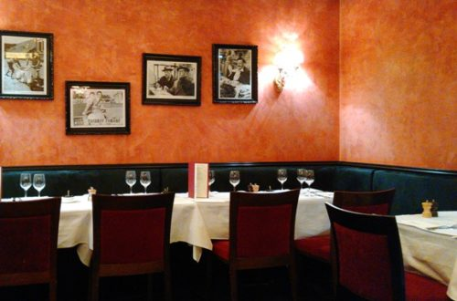 Article : Restaurant « Cesar », avenue Wagram à Paris