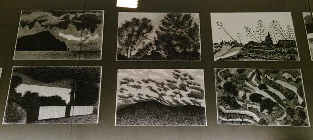 Quelques pièces de Richard Aeschlimann (photo de l'auteur)