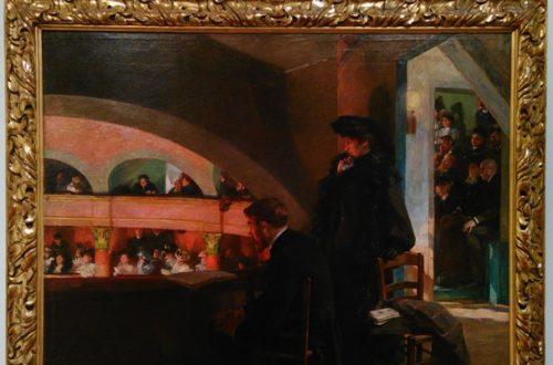 Article : Théâtres et cafés au musée Paul Dini