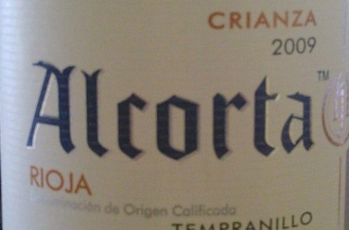 Article : Rioja, Alcorta, Crianza 2009