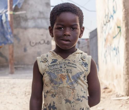 "Un petit iranien par Mahdi Ehsaei, série ""Afro-Iran"""