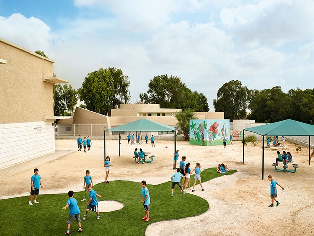 Shikim Maoz School, Sderot, Israël (© James Mollison)