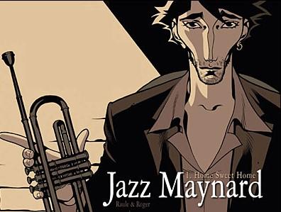 Les six tomes de la série Jazz Meynard sont édités chez Dargaud
