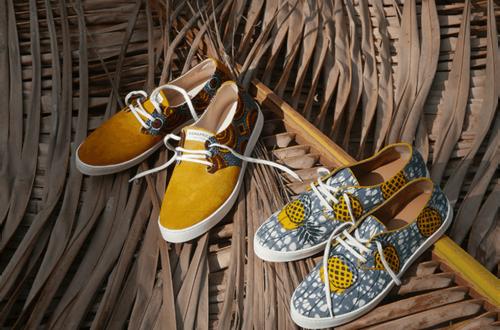 Article : Panafrica, le tissu wax à l'assaut des pieds européens